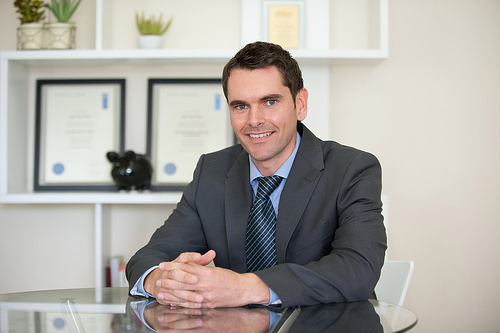 Jamie Moore, a local Canberra mortgage broker