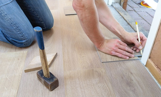 man renovating a property in Canberra